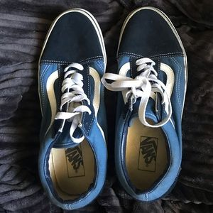 Vans old skool navy blue sneakers